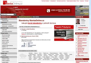 StavbaOnline.cz v roce 2008